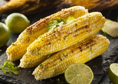 Kick your grilled corn on the cob up a notch with Allegro Soy and Lime Marinade. #grilledcorn #grillingout #grilledveggies