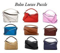 """Loewe Puzzle Bag"" by lausgdr-1 on Polyvore featuring Loewe"