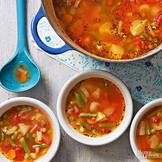 French Garden Soup From Better Homes and Gardens, ideas and improvement projects for your home and garden plus recipes and entertaining ideas.