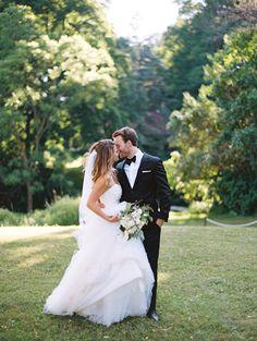 Elegant Outdoor White Wedding - #classic #elegant #elegantwedding