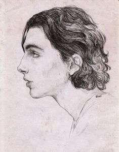 Portrait Drawing Elio as if by the old masters (i tried tho!) you can buy this one in my Redbubble [HERE] - Art Drawings Sketches, Realistic Drawings, Art Inspiration Drawing, Art Inspo, Art And Illustration, Name Art, Old Master, Art Sketchbook, Art Tutorials