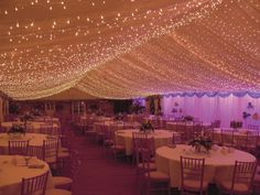 Abbas Marquees - Celebrations, lovely twinky fairy lights!