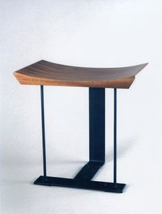 Pierre Chareau - Stool in mahogany and patinated wrought iron 1927