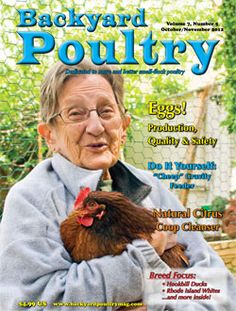 Superbe Backyard Poultry Magazine