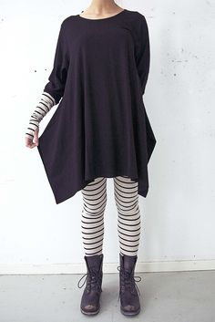 c90a3b68d184ae Simple monochrome - love the leggings and matching long sleeves