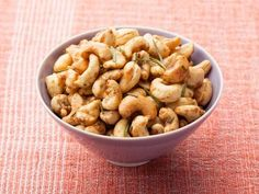 Get Rosemary Roasted Cashews Recipe from Food Network