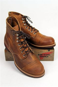 Red Wing Iron Ranger 8115. Waiting for these to come in.