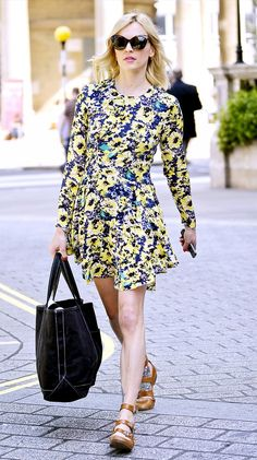The Summer Dresses Our Favorite Celebs Are Wearing via @WhoWhatWear