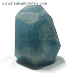 Aquamarine - Aquamarine Faceted Nuggets (Pakistan)- Aquamarine - Healing Crystals