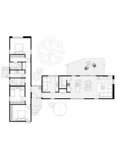 Smart Modular Design of The Month - Juno - A Modern Barn Style Home Best Modular Homes, Modular Home Plans, Modular Housing, Home Design Floor Plans, House Floor Plans, Sustainable Building Design, Architectural Floor Plans, Floor Plan Layout, Container House Plans