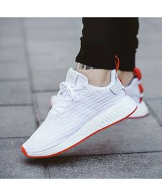 super popular 560ce a3f1a Adidas NMD R2 Two Toned White Red Trainers Adidas Nmd R1, Cheap Adidas Nmd,