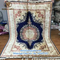 Today promotion from Yilong Carpet factory Handmade garden design silk carpet Rug No.: 200L TXJ-1001 Size: 170X245cm ( 5.6x8ft ) Material: silk Producing time: 9 months Price: usd4483 More information, please contact Ms. Alice alice@yilongcarpet.com WhatsApp/Viber/Tel: +86 15638927921