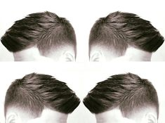 The top short hairstyles for men for the year 2018 are eye-catching and somewhat sophisticated. Today the short mens hairstyles have become particularly. Hair And Beard Styles, Curly Hair Styles, Style Androgyne, Gents Hair Style, Trendy Mens Haircuts, Barber Haircuts, Long Hair On Top, Faded Hair, Hairstyles Haircuts
