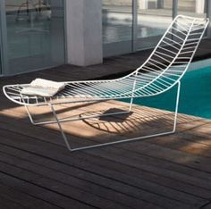 Leaf chaise lounge | Arper