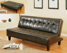 Marco Brown Leather Futon Pinterest The World 39 S Catalog Of Ideas