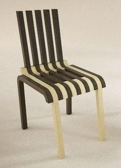 Frame Chair by Luis Porem