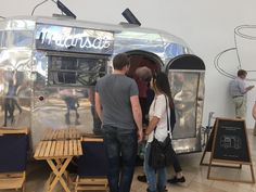 Miansai pop up at Prudential Center Mall Boston. Airstream makes a great mall kiosk!