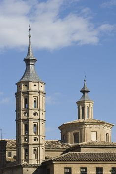 Church of San Juan de los Panetes, Zaragoza, Aragon, Spain, Europe