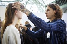 Paris Fashion Week F/W2014 -15 Show: Chloé ... | L'Oréal Professionnel #pfw #lpbackstage #chloe Fashion Week, Paris Fashion, L'oréal Professionnel, Chloe, Paris France Fashion