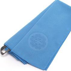 #1 Rated Travel Towel - MICROFIBER - Guarantee Bleed Free - Includes Hook