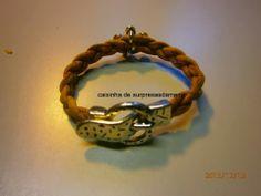 cork bracelet! Pulseira em cortiça.(¯`v´¯) `*.¸.*´ ¸.•´¸.•*¨) ¸.•*¨) (¸.•´ (¸.•´ .•´ ¸¸.•¨¯`*
