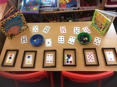 Playing cards as gems... identifying the value of the card.