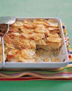 Fennel and Potato Bake