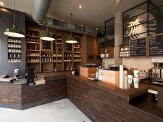 Palm cafe, wroclaw, poland starbucks coffee emea b. Starbucks Store, Starbucks Reserve, Starbucks Coffee, Starbucks Drinks, Cafe Bar, Cafe Restaurant, Restaurant Design, Coffee Shop Design, Arquitetura