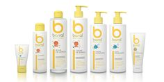 Packaging for Barral Baby Products
