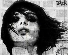 "Saatchi Art Artist Loui Jover; Drawing, ""escape"" #art"