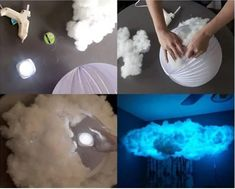 Ideen DIY Babyzimmer Kunst Wolke Lichter Informations About ideas diy baby room art cloud lights Pin You can easily use my … Diy Cloud Light, Cloud Lights, Cloud Diy, Diy Light, Cloud Night Light, Cloud Craft, Glow Cloud, Light Bulb, Emo Room