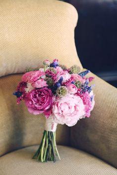 """Something Blue"" Bridal Bouquet Ideas"