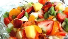 Meyveleri meyve salatası olarak tüketin