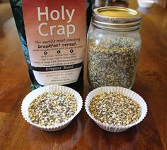 Cooking with Jax: Dragon's Den Inspired: Holy Crap & Skinny B Breakfast Cereal Recipe