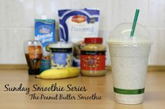 Sunday Smoothie Series | The Peanut Butter Smoothie