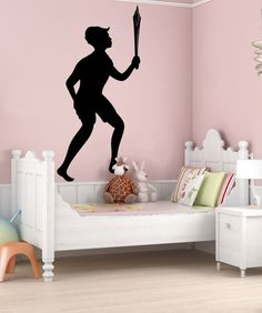 Vinyl Wall Decal Sticker Peter and Sword #OS_MB400 | Stickerbrand wall art decals, wall graphics and wall murals.