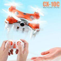 Original Cheerson CX-10C Quad Copter Droni Pocket Drone Quadrocopter CX10C Mini Quadcopter Dron With Camera RC Helicopter VS H20
