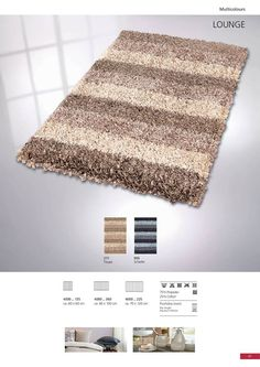 This is one of the most unique and cool bath rugs in our collection. A modern shag rug which will add texture and a wow factor to any bathroom. Bath Rugs, Shag Rug, Texture, Bathroom, Unique, Modern, Collection, Home Decor, Slate