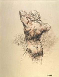Back Nude of Paul by sherrie mcgraw