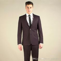 Sell like hot cakes! New Business Men Suits Groomsmen Tuxedos ...