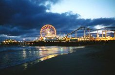 Santa Monica Pier We enjoyed our trip to California. Spent a whole day in the city of Santa Monica, went out on the Pier, and had a wonderful time. Santa Monica California, Going To California, California Dreamin', Places To Travel, Places To See, Los Angeles Vacation, Las Vegas, Park Photography, Mood