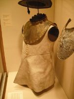 Buff Coat and related 17th century armour  from the Metropolitan Museum, New York  (Images taken by Dennis Schwarz)