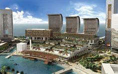 Rafael Viñoly Architects :: Raffles City Bahrain