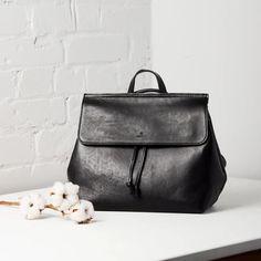 Zen Convertible Tote / Backpack - Black – Uppdoo Design Studio Tote Backpack, Black Backpack, Leather Backpack, Convertible Backpack, Vegetable Tanned Leather, Tan Leather, Zen, Shoulder Strap, Fashion Jewelry
