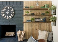 Simple Ways to Copy Joanna Gaines' Decorating Tips From 'Fixer Upper' in Your Own House Living Room Remodel, Home Living Room, Living Room Decor, Ux Design, House Design, Small Basement Remodel, Basement Remodeling, Dark Basement, Basement House