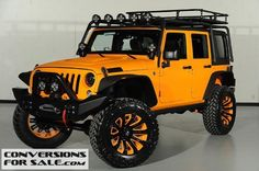 2014 Lifted Jeep Wrangler Unlimited Kevlar Coated Custom Leather