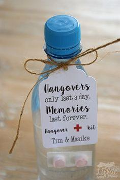 Bedankkaartje - Hangover (10st)