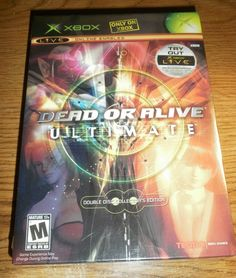 (¯`*•.¸,¤°´* NEW & SEALED Dead or Alive Ultimate XBOX video game w/FREE U.S. SHIPPING *`°¤,¸.•*´¯)