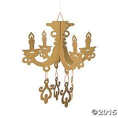 chandelier decorations foil - Google Search