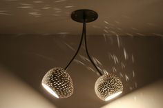 Ceiling Light: Double Headed Claylight